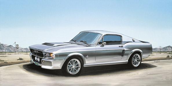 Mustang 33 x 70 cm